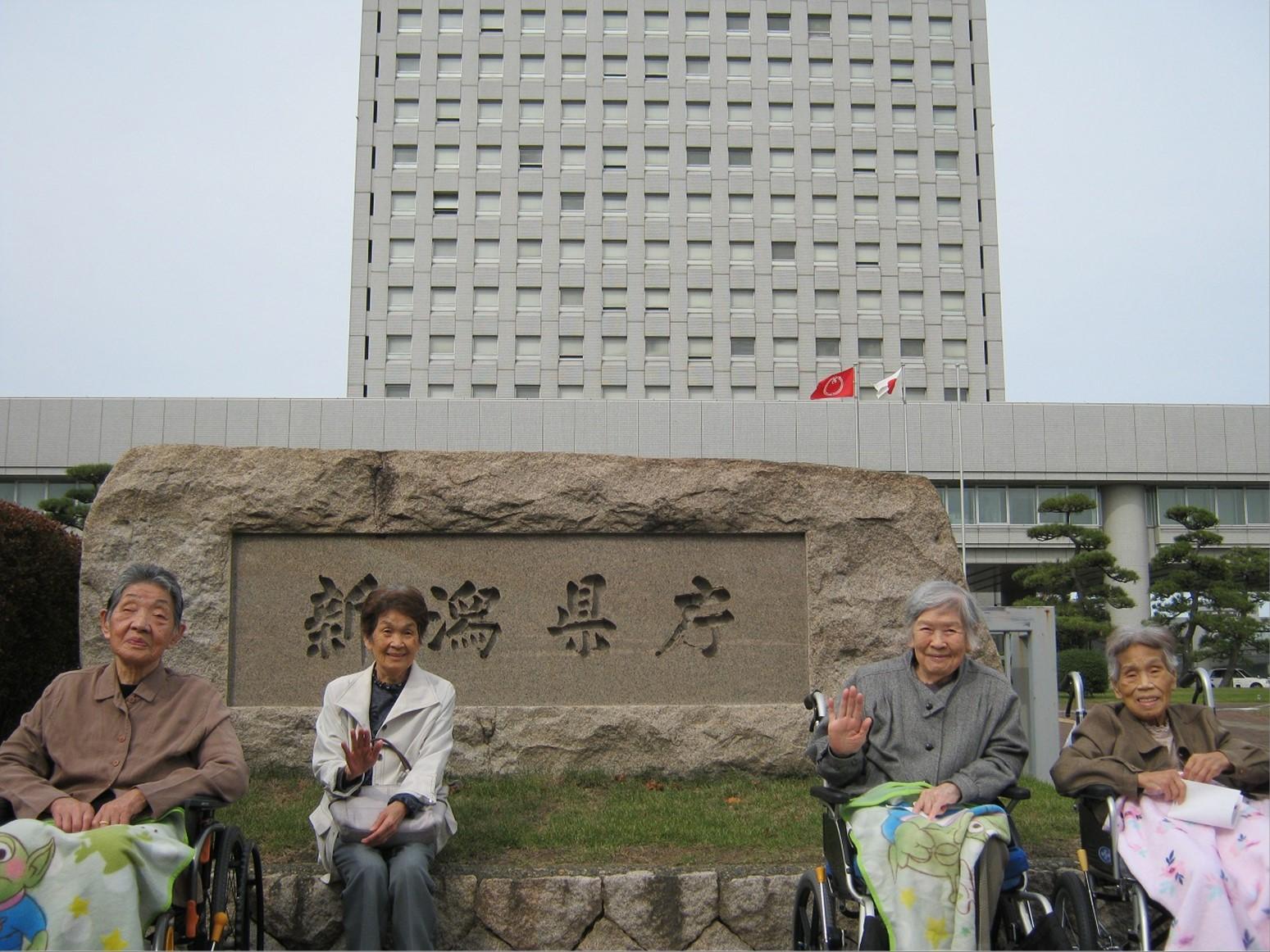 新潟県庁の「展望回廊」に登って来ました。