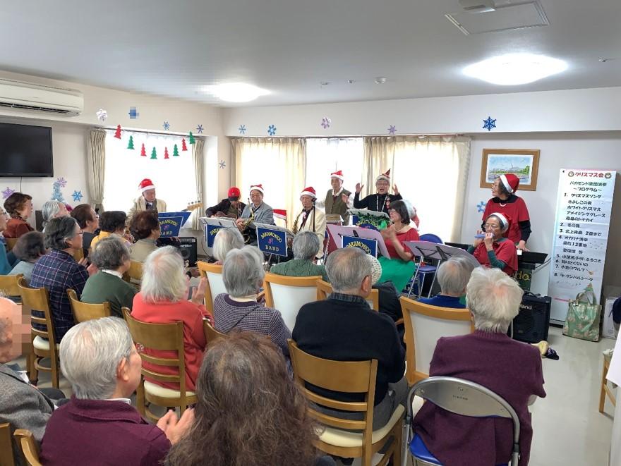 クリスマス会を開催しました。